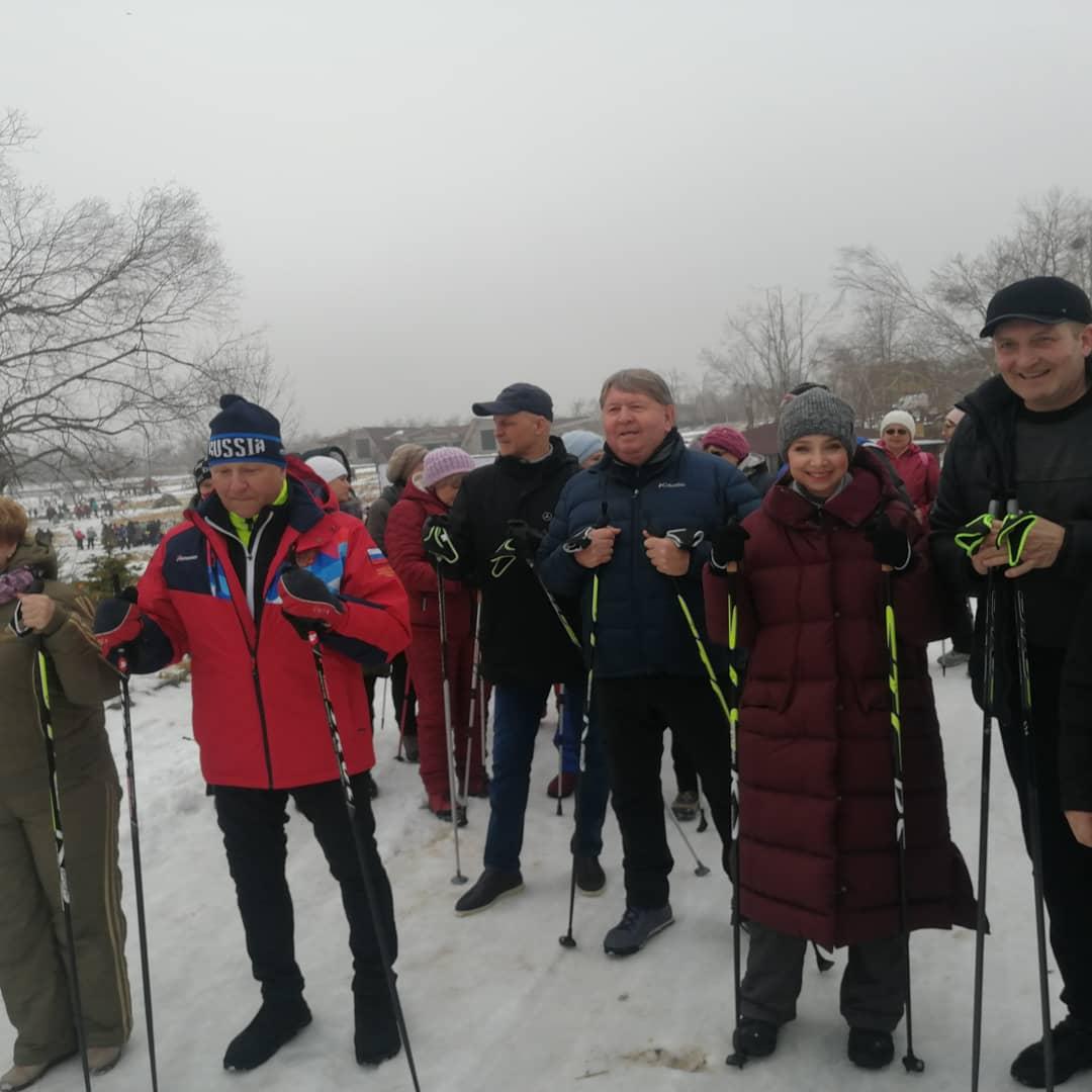 Торжественное открытие фестиваля зимних видов спорта
