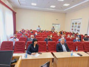 Очередное заседание Думы АГО состоялось сегодня.