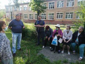Встреча депутата Думы по избирательному округу Анатолия Баделя с жителями дома по ул. Фрунзе, 65 состоялась 8 июля.