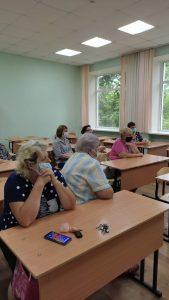 Депутат 14 избирательного округа Альбина Власенко встретилась с жителями.