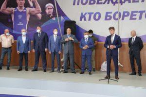 Депутат Думы АГО Ледовских О.В. принял участие в торжественном открытии