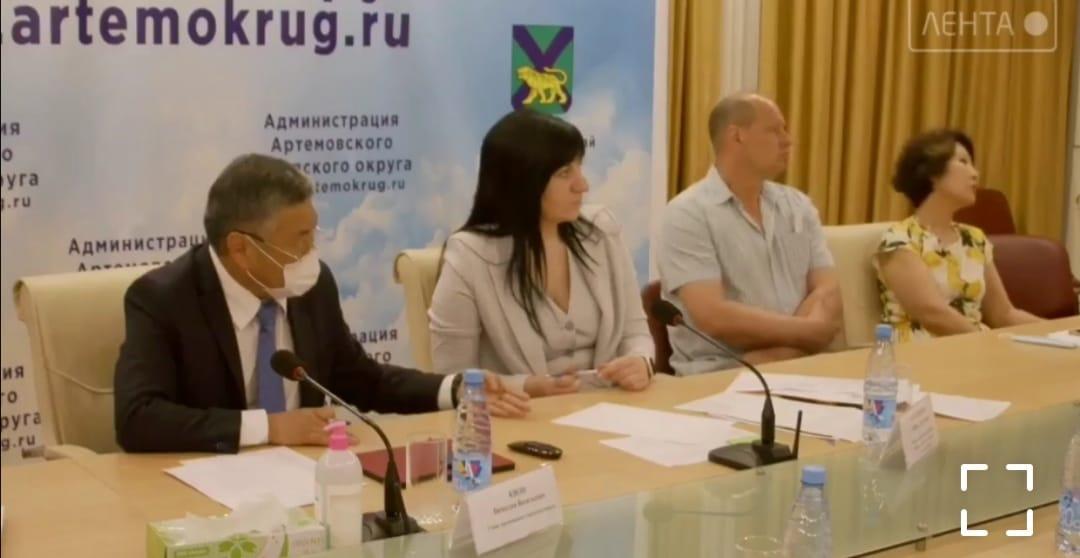 Точки роста артёмовского бизнеса обсудили в рамках круглого стола «муниципальная инициатива».