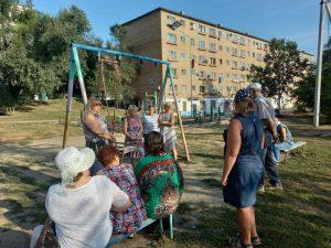 Ольга Бутковская провела встречу с жителями избирательного округа № 20
