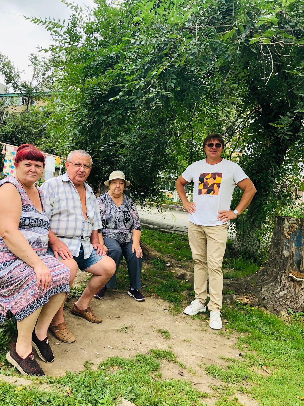 Встреча Александра Дерябина с избирателями