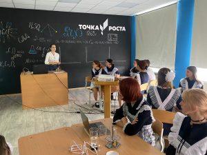«Точка роста» появилась в школе №22 с. Кневичи